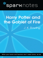 Harry Potter and the Goblet of Fire (SparkNotes Literature Guide)