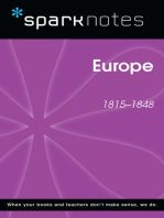 Europe (1815-1848) (SparkNotes History Note)