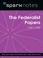 The Federalist Papers (1787-1789) (SparkNotes History Note)