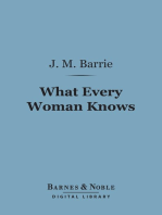 What Every Woman Knows (Barnes & Noble Digital Library)