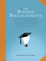 The Bedside Baccalaureate