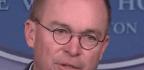 Mulvaney's Spin on Ukraine Aid