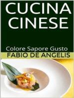 Cucina cinese - colore, sapore, gusto