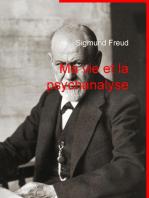 Ma vie et la psychanalyse