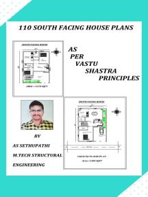 110 South Facing House Plans as per Vastu Shastra Principles