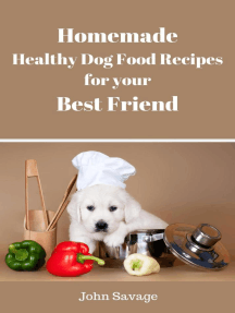 Homemade Healthy Dog Food Recipes