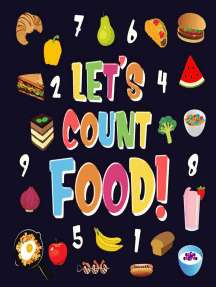 Let's Count Food! | Can You Find & Count all the Bananas, Carrots and Pizzas | Fun Eating Counting Book for Children, 2-4 Year Olds | Picture Puzzle Book: Counting Books for Kindergarten, #3