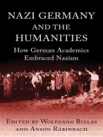 Nazi Germany and The Humanities