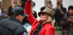 If It's Friday, It Means Jane Fonda And Her Red Coat Get Arrested Again