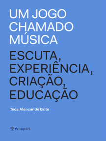 Um jogo chamado música: Escuta, experiência, criação, educação