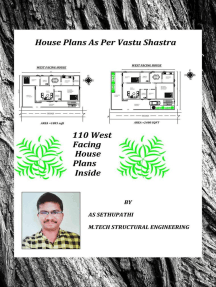 House Plans As Per Vastu Shastra (110 West Facing House Plans Inside): First, #1