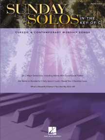 Sunday Solos in the Key of C: Classic & Contemporary Worship Songs