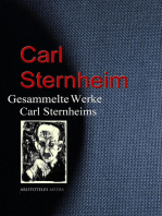 Gesammelte Werke Carl Sternheims
