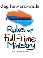 Rules of Full-time Ministry 2nd Edition