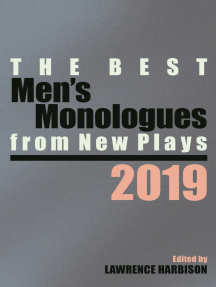 The Best Men's Monologues from New Plays, 2019
