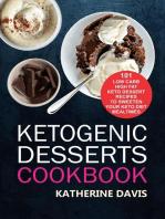 Ketogenic Desserts Cookbook