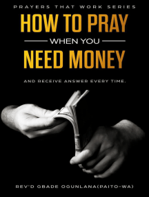 How to Pray When You Need Money