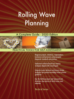 Rolling Wave Planning A Complete Guide - 2020 Edition