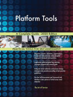 Platform Tools A Complete Guide - 2020 Edition
