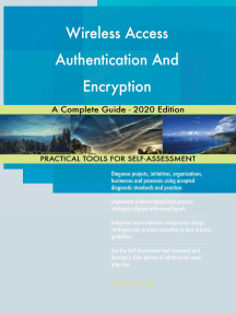 Wireless Access Authentication And Encryption A Complete Guide - 2020 Edition
