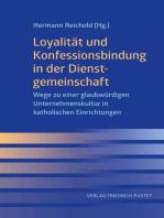 Loyalität und Konfessionsbindung in der Dienstgemeinschaft
