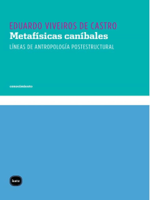 Metafísicas caníbales: Líneas de antropología postestructural
