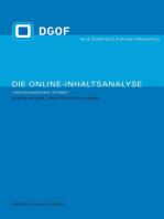 Die Online-Inhaltsanalyse