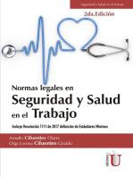 Normas Legales en Seguridad y Salud en el Trabajo. 2ª Edición