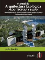 Manual de arquitectura ecológica: arquitectura y salud: Metodología de diseño para realizar una arquitectura saludable y ecológica que garantice la salud y la longevidad de sus ocupantes