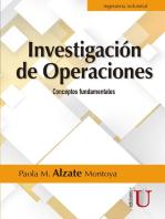 Investigación de operaciones: Conceptos fundamentales