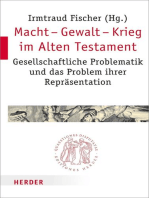 Macht - Gewalt - Krieg im Alten Testament