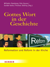 Gottes Wort in der Geschichte: Reformation und Reform in der Kirche