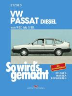VW Passat 9/80 bis 3/88 Diesel