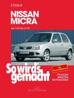 Nissan Micra 3/83 - 12/02: So wird's gemacht - Band 85