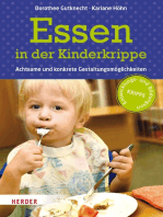 Essen in der Kinderkrippe