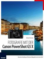 Fotografie mit der Canon PowerShot G5 X