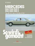 Mercedes 200 / 230 / 230 E / 250 / 280 / 280 E