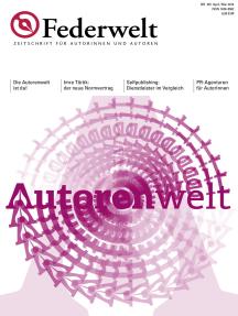 Federwelt 105, 02-2014: Zeitschrift für Autorinnen und Autoren