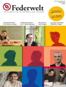 Federwelt 110, 01-2015: Zeitschrift für Autorinnen und Autoren
