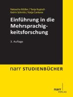 Einführung in die Mehrsprachigkeitsforschung
