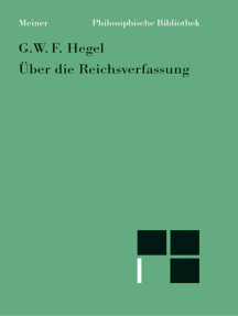 Über die Reichsverfassung