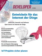 iX Developer - Entwickeln für das Internet der Dinge