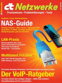 c't Netzwerke (2016): VoIP- und NAS-Ratgeber