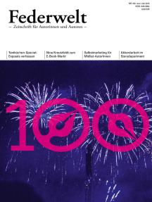 Federwelt 100, 03-2013: Zeitschrift für Autorinnen und Autoren