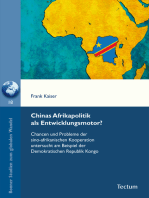 Chinas Afrikapolitik als Entwicklungsmotor?