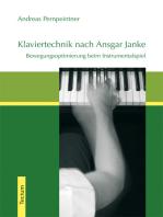 Klaviertechnik nach Ansgar Janke