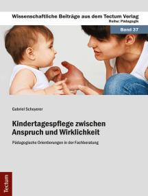 Kindertagespflege zwischen Anspruch und Wirklichkeit: Pädagogische Orientierungen in der Fachberatung