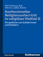 Konfessioneller Religionsunterricht in religiöser Vielfalt II