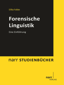 Forensische Linguistik: Eine Einführung