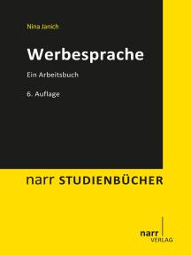 Werbesprache: Ein Arbeitsbuch